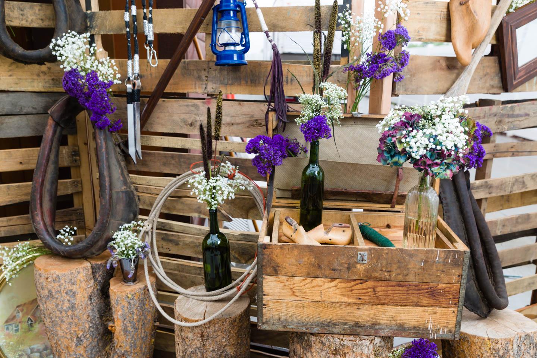 Western steampunk design for wedding