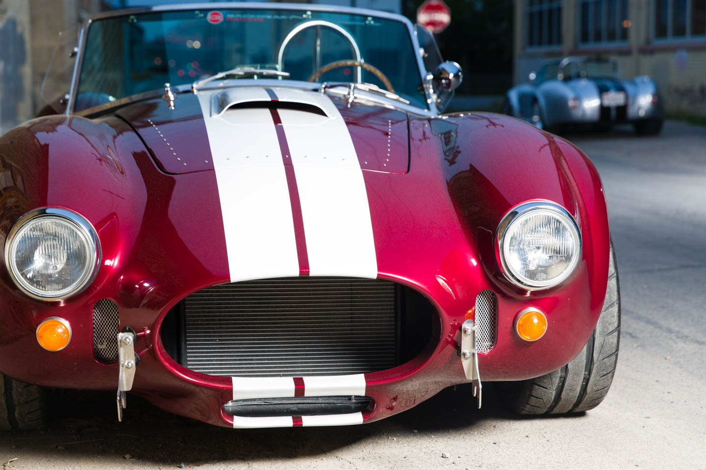 2 Shelby Cobras photographed for Prestman Auto