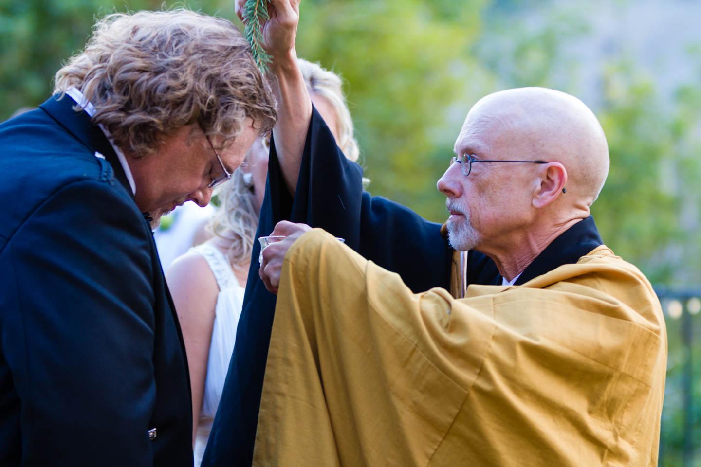 Buddhist wedding ceremony
