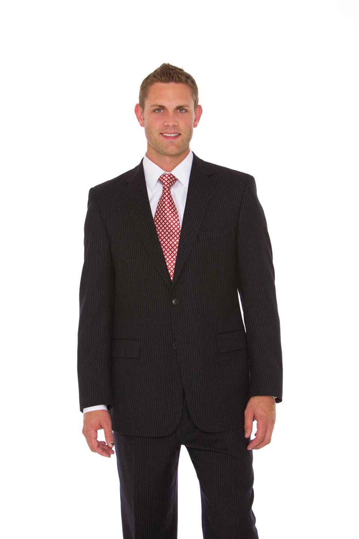 Eddie in full suit and tie