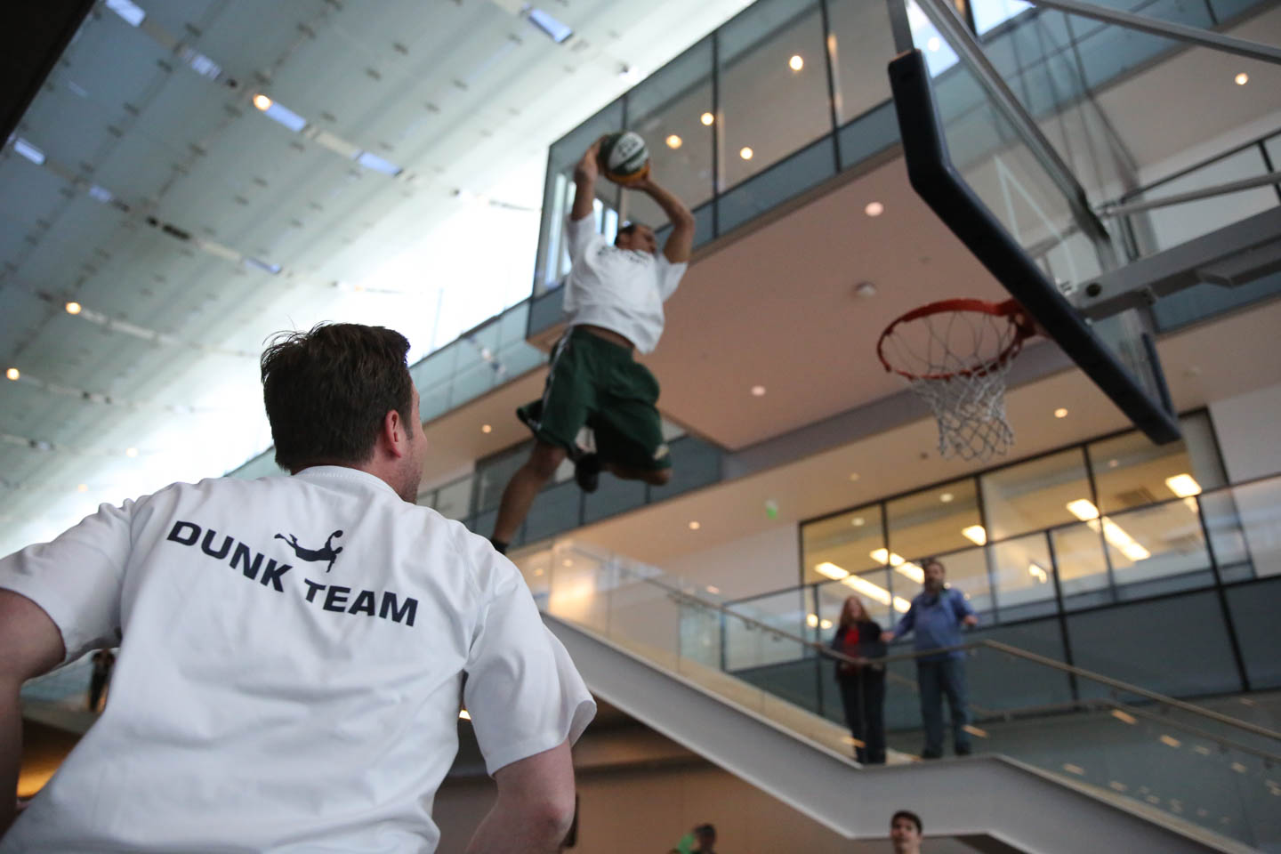 Utah Jazz Dunk Team