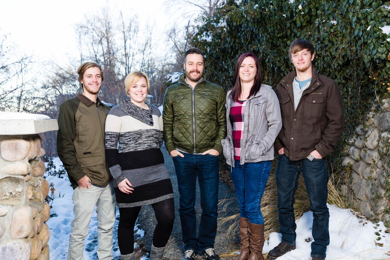 Tolbert family at Memory Grove in Salt Lake City